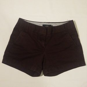 J.Crew Gently Worn Brown Chino Shorts